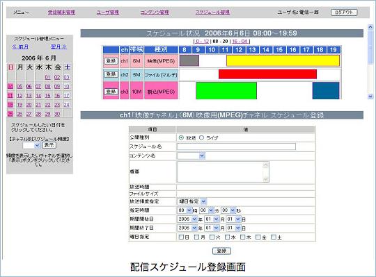 管理画面例