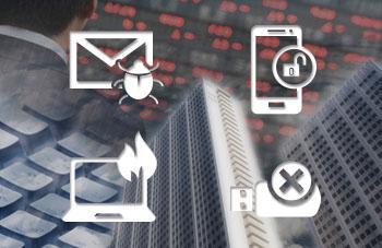 サイバーセキュリティインシデント対応支援サービスのイメージ画像