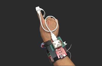 MEMS加速度センサのイメージ画像