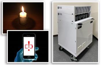 災害時・避難所のご家庭・個人向け 非常用USB電源ステーションのイメージ画像