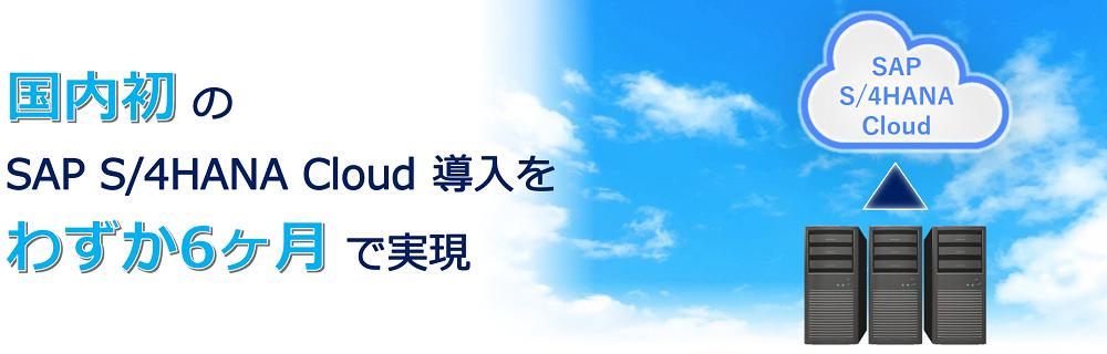DX支援ソリューション 導入事例 「SAP(基幹システム)の自社導入」のイメージ画像