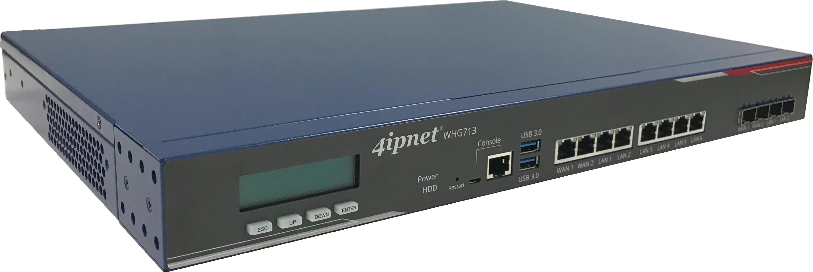 whg713:最大AP管理台数600台、最大ユーザ数30000人のコントローラ