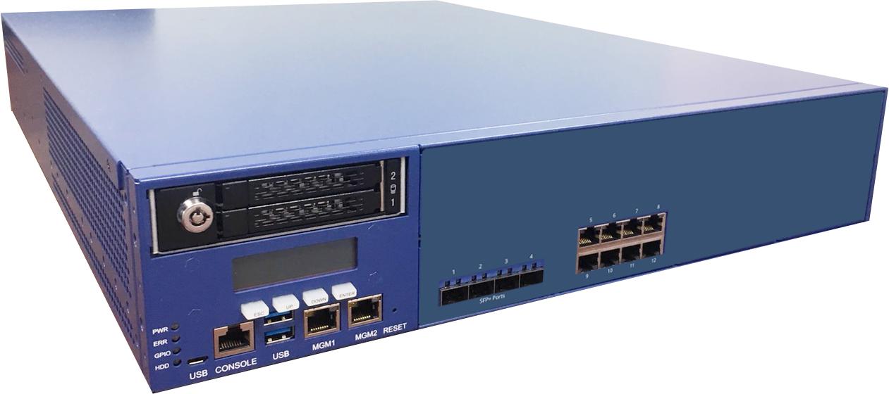 whg803:最大AP管理台数1500台、最大ユーザ数30000人のコントローラ