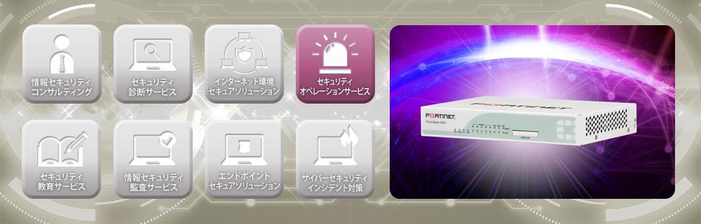 FortiGate SOCサービスのイメージ画像