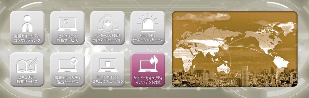 インシデント対応リモート支援サービスのイメージ画像