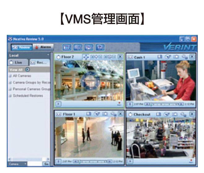 VMS管理画面