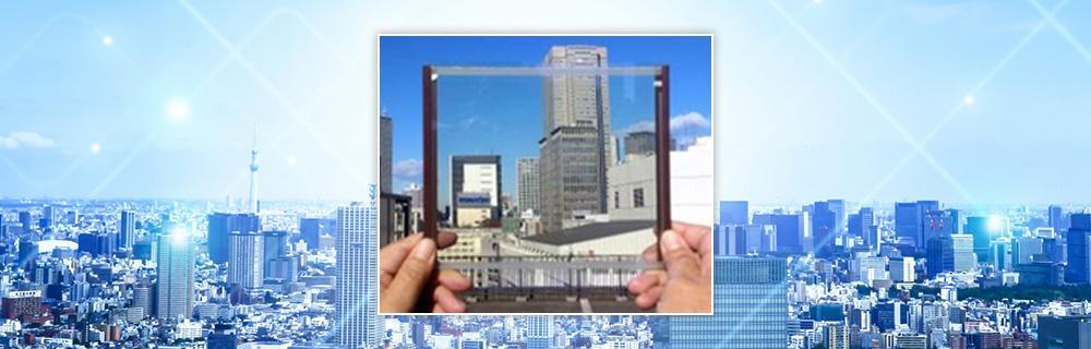 建物全体の景観を損なわずエネルギーを創り出す SQPVガラスのイメージ図