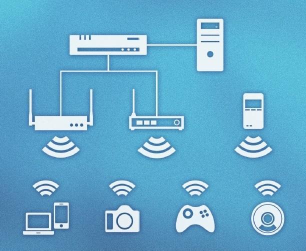 Wi-Fi機器評価・検証サービス(AP(アクセスポイント),同時接続数,性能)のイメージ,